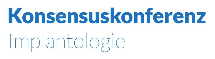 Logo Konsensuskonferenz Implantologie